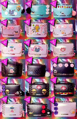 PUNKED OUT PURSES
