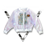 LAST CHANCE ▿ HOLO-GIRL SHEER JACKET