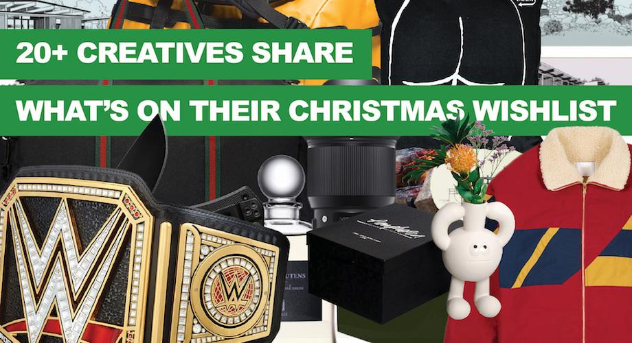 20+ Creatives Share What's on Their Wish List This Christmas