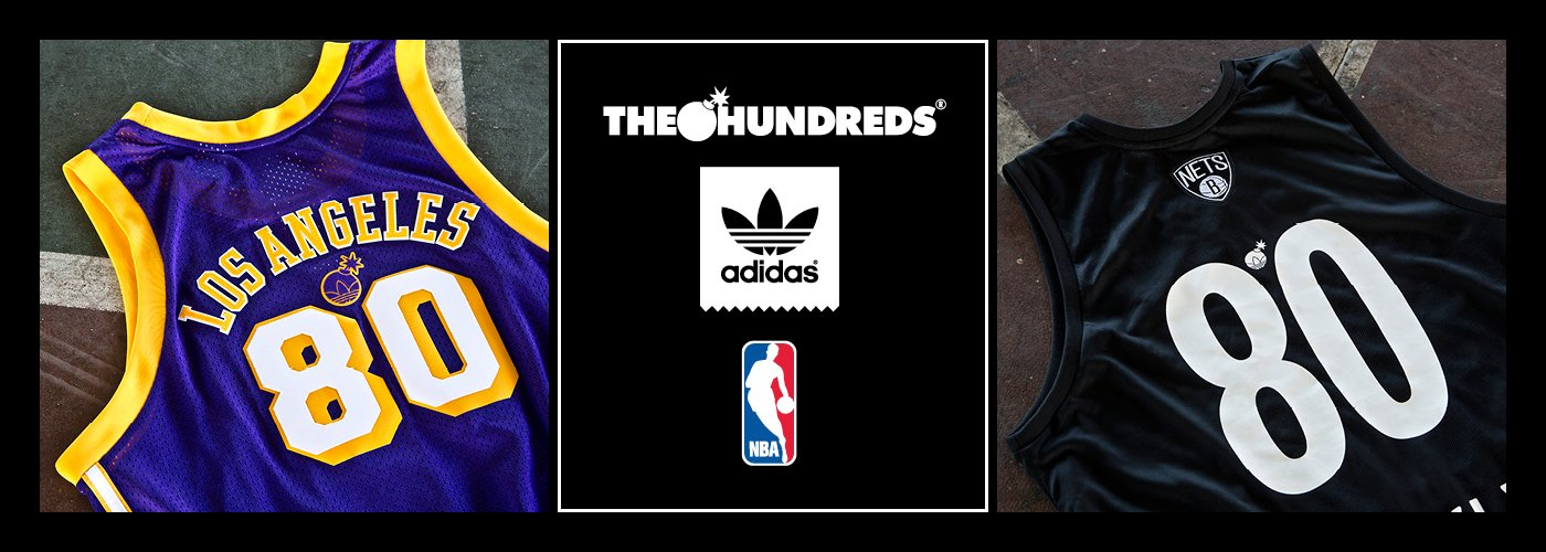 Available Now :: The Hundreds in Collaboration with adidas and The NBA