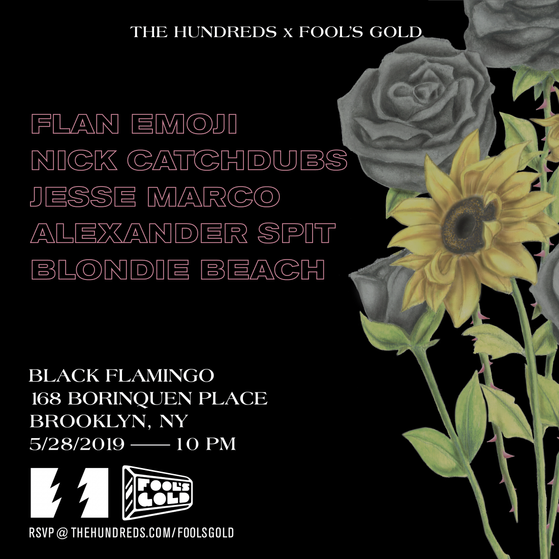 Rsvp The Hundreds X Fools Gold In Brooklyn 5 28