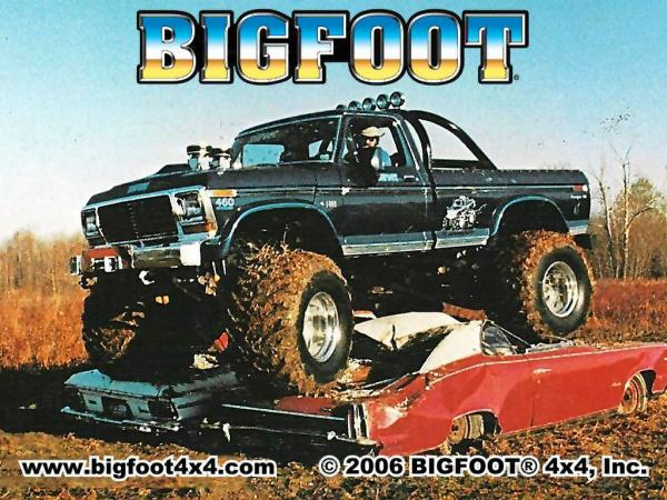 They Found Bigfoot The Story Behind The First Original Monster Truck Bob Chandler