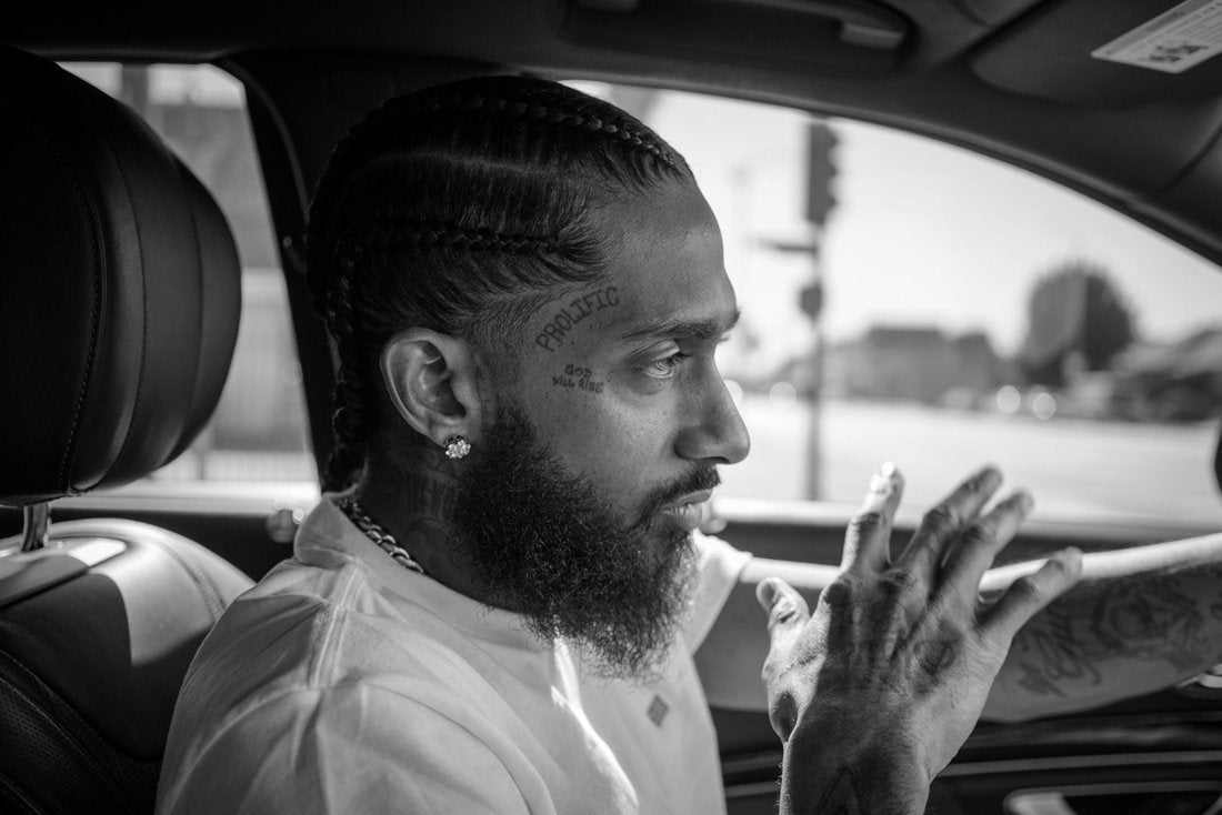 NIPSEY HUSSLE :: AT CONFLICT WITH THE WORLD