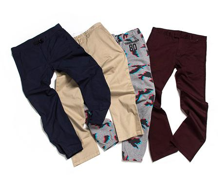 THE HUNDREDS SPRING 2015 HIGHLIGHTS :: PANTS