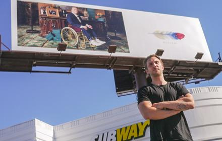 Conrad Adamczak :: My First Billboard