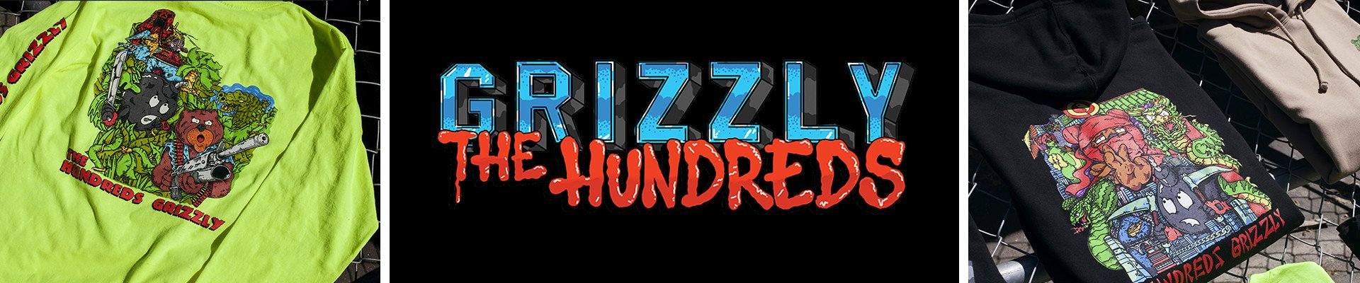 The Hundreds x Grizzly