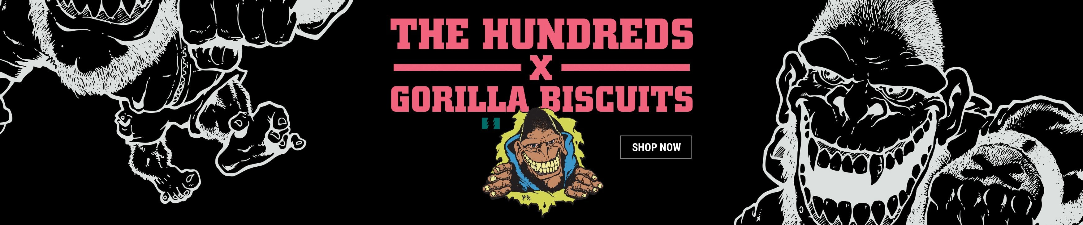 The Hundreds X Gorilla Biscuits