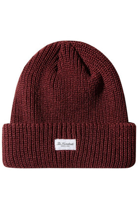 The Hundreds Crisp 2 Beanie HEADWEAR Burgundy