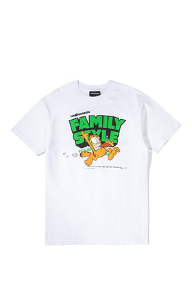 Garfield X The Hundreds Pizza T-Shirt