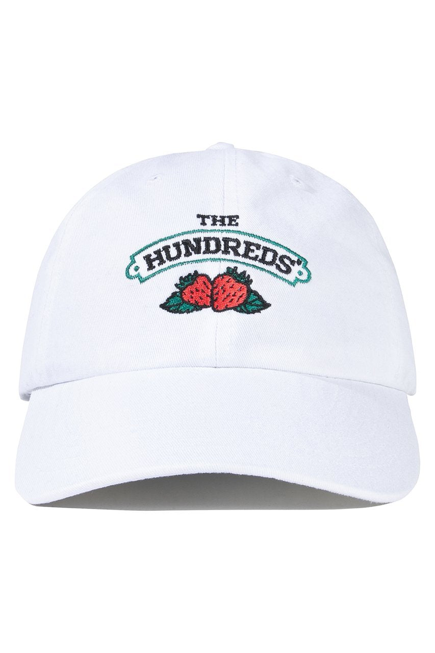 The Hundreds Jams Strapback HEADWEAR White