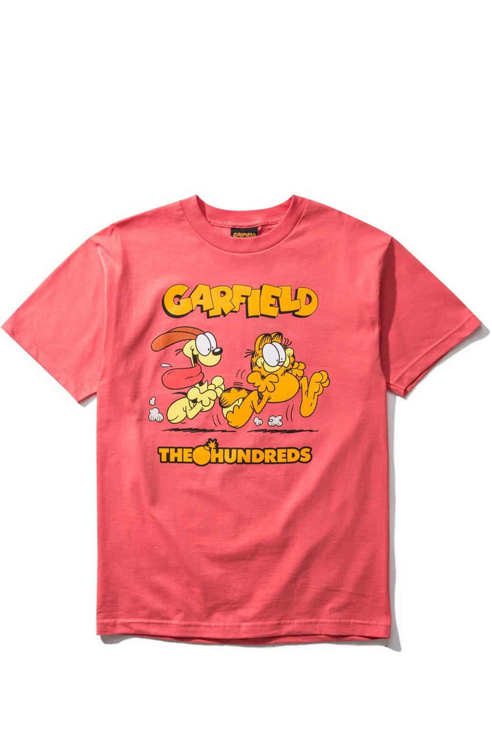 Garfield Chase T-Shirt-TOPS-The Hundreds UK