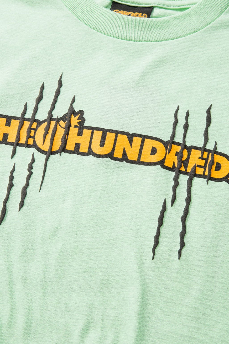 Garfield Scratch T-Shirt-TOPS-The Hundreds UK