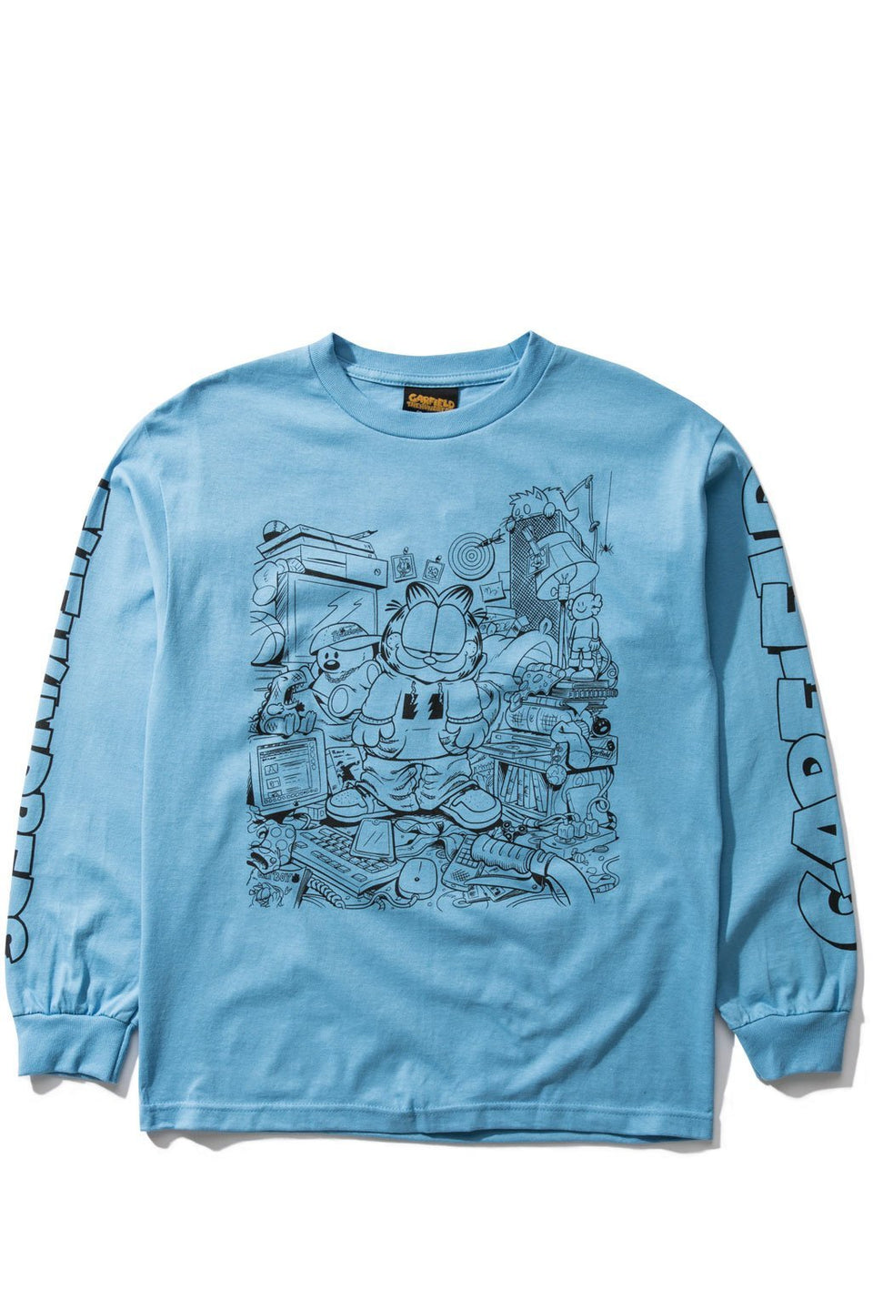 Messy Garfield L/S Shirt-TOPS-The Hundreds UK