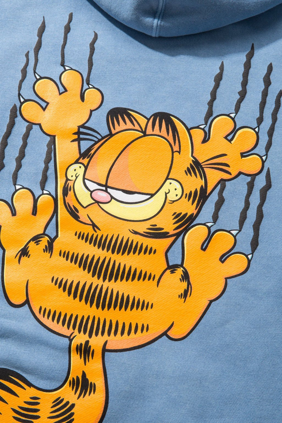 Garfield Bar Pullover Hoodie-TOPS-The Hundreds UK