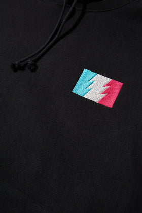 RW Outline Flag Logo Pullover Hoodie
