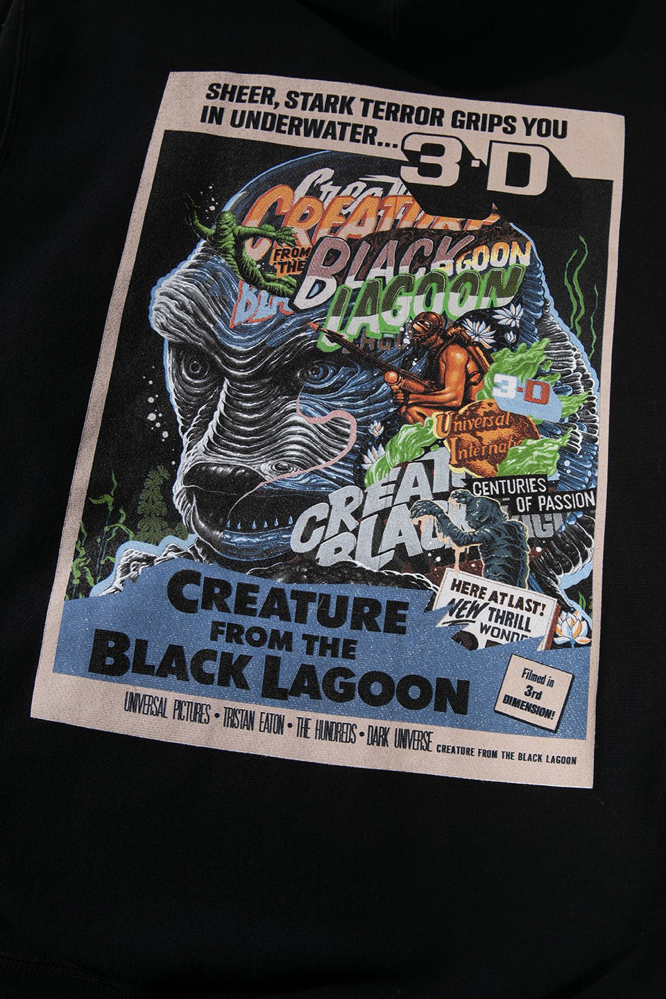 Creature From The Black Lagoon Pullover Hoodie