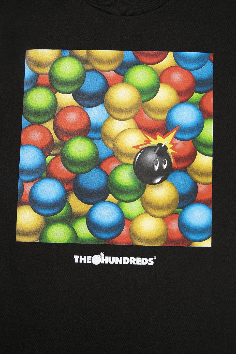 The Hundreds Ballpit T-Shirt Royal Black