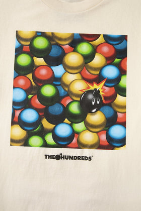 The Hundreds Ballpit T-Shirt Royal Cream