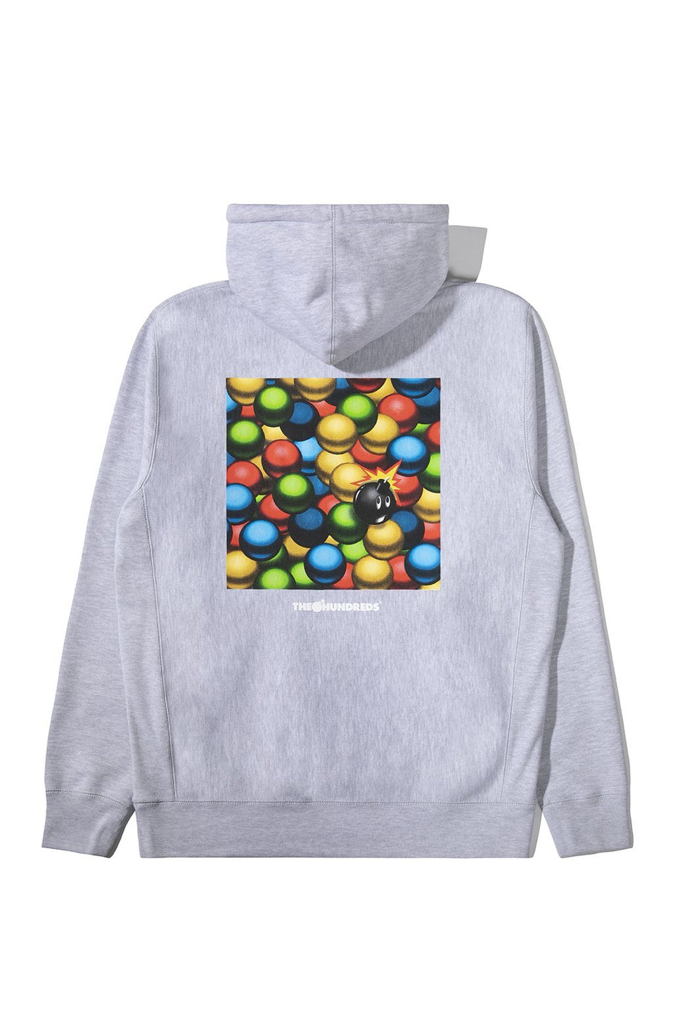 The Hundreds Bryan Pullover Hoodie Grey Heather
