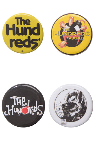 Club Button Pin 4pk