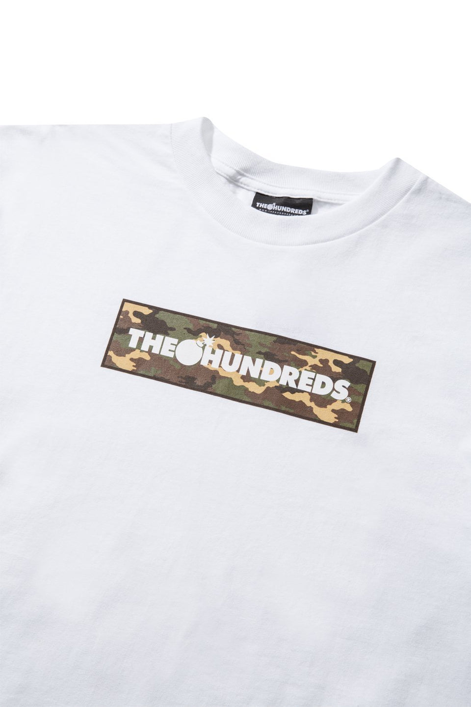 Camo Bar T-Shirt-TOPS-The Hundreds UK