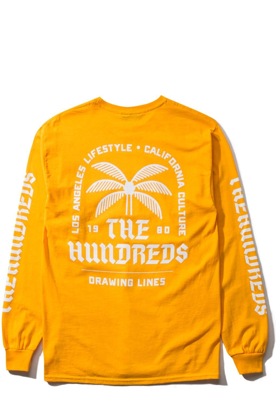 LA CA lifestyle L/S Shirt-TOPS-The Hundreds UK