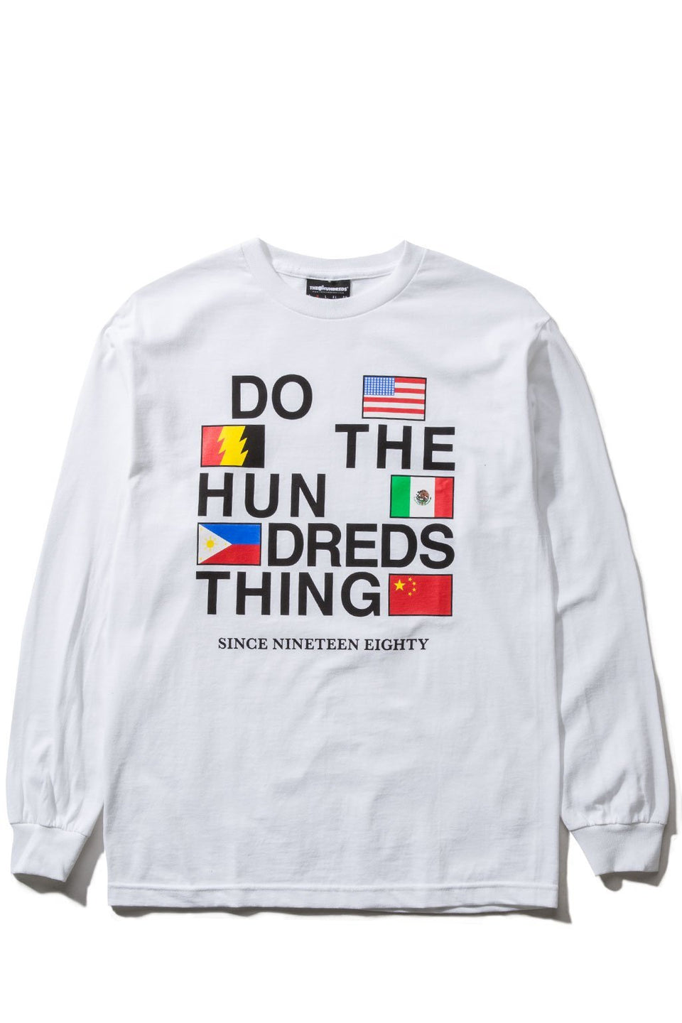 Love Hate L/S Shirt-TOPS-The Hundreds UK