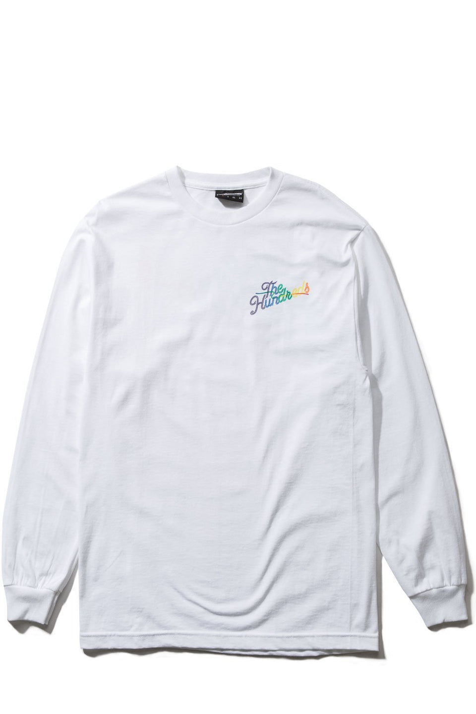Spectrum Slant L/S Shirt-TOPS-The Hundreds UK