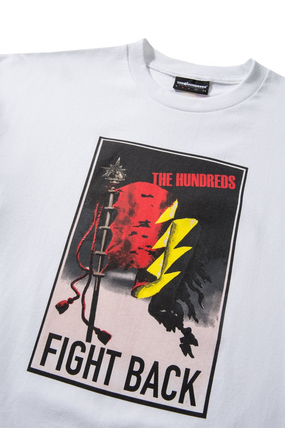 Fight Back T-Shirt-TOPS-The Hundreds UK