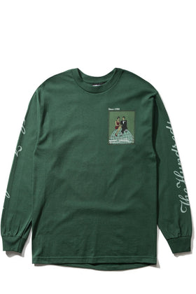 Top of the World L/S Shirt-TOPS-The Hundreds UK