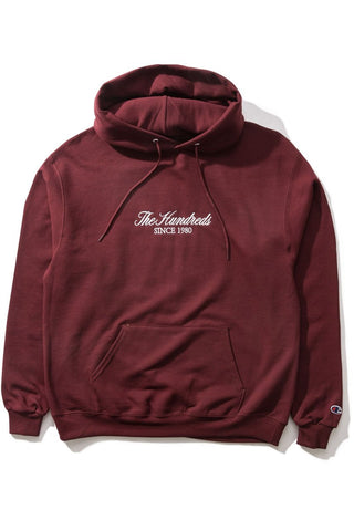 Rich Embroidery Pullover Hoodie
