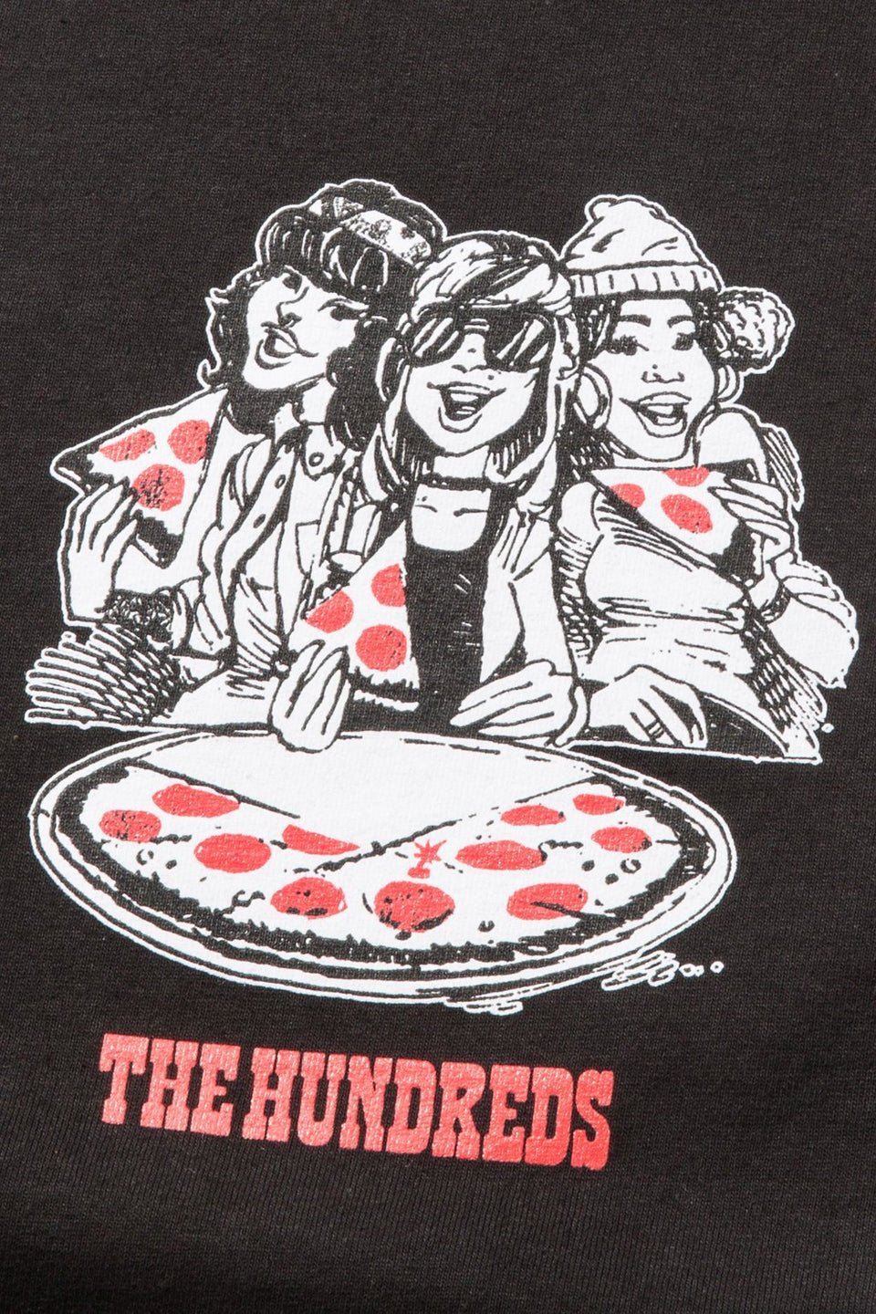 Lunch T-Shirt-TOPS-The Hundreds UK