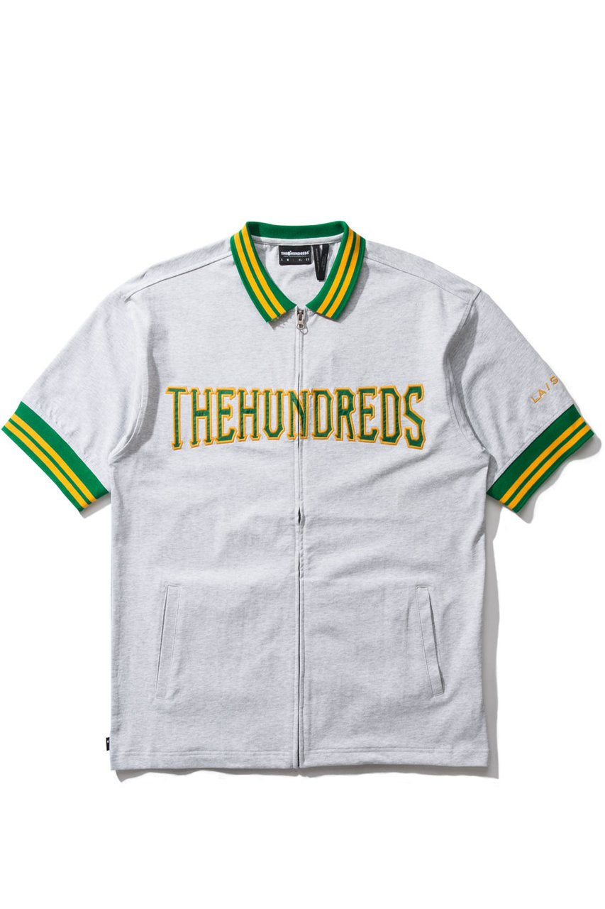 Club S/S Zip-Up Jersey-TOPS-The Hundreds UK