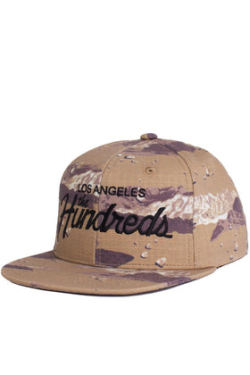 Team Camo Snapback-HEADWEAR-The Hundreds UK