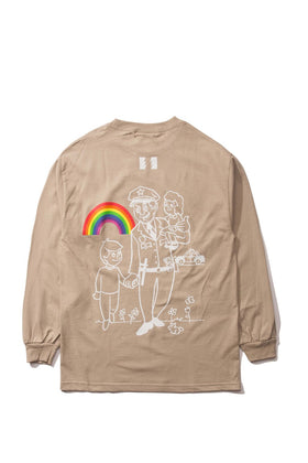 Flowers Rainbows L/S Shirt