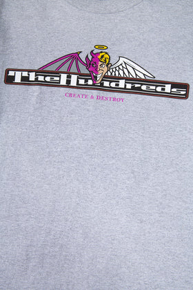 The Hundreds Duel T-Shirt TOPS Athletic Heather
