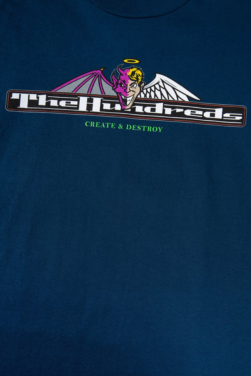 The Hundreds Duel T-Shirt TOPS Harbour Blue