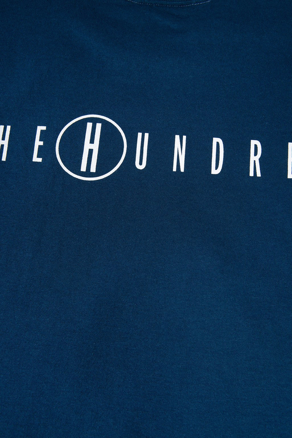 The Hundreds Haze T-Shirt TOPS Harbour Blue