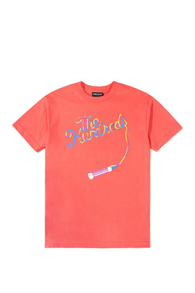 The Hundreds Streak T-Shirt TOPS Coral