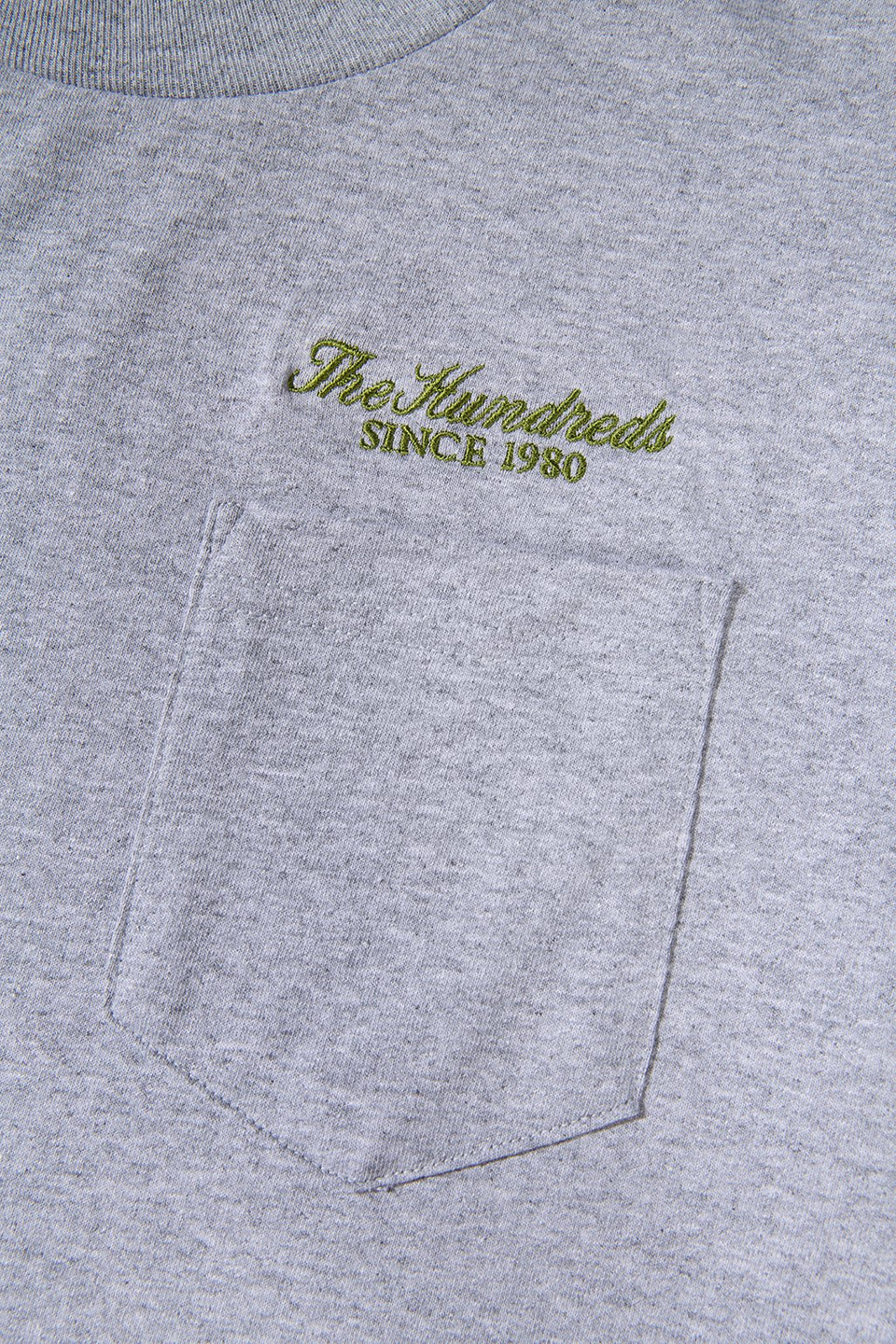 The Hundreds Rich Pocket T-Shirt TOPS Athletic Heather