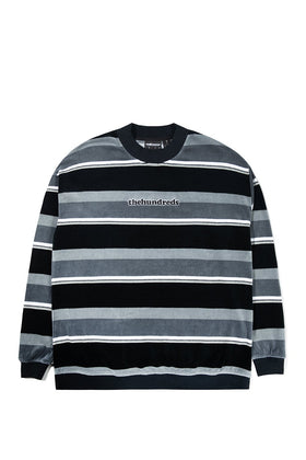 The Hundreds Peck Crewneck TOPS Black