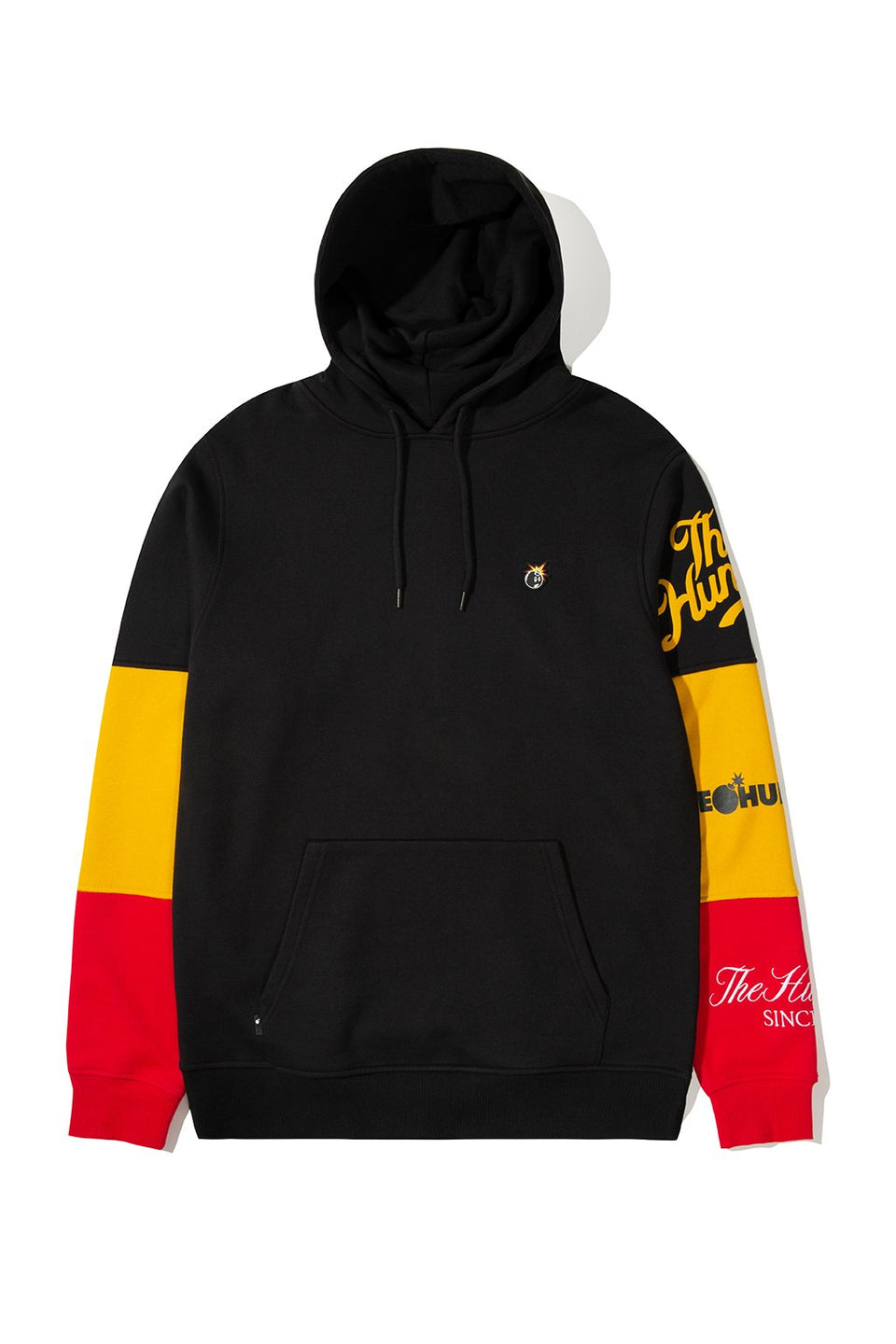 The Hundreds Hollow Pullover Hoodie TOPS Black