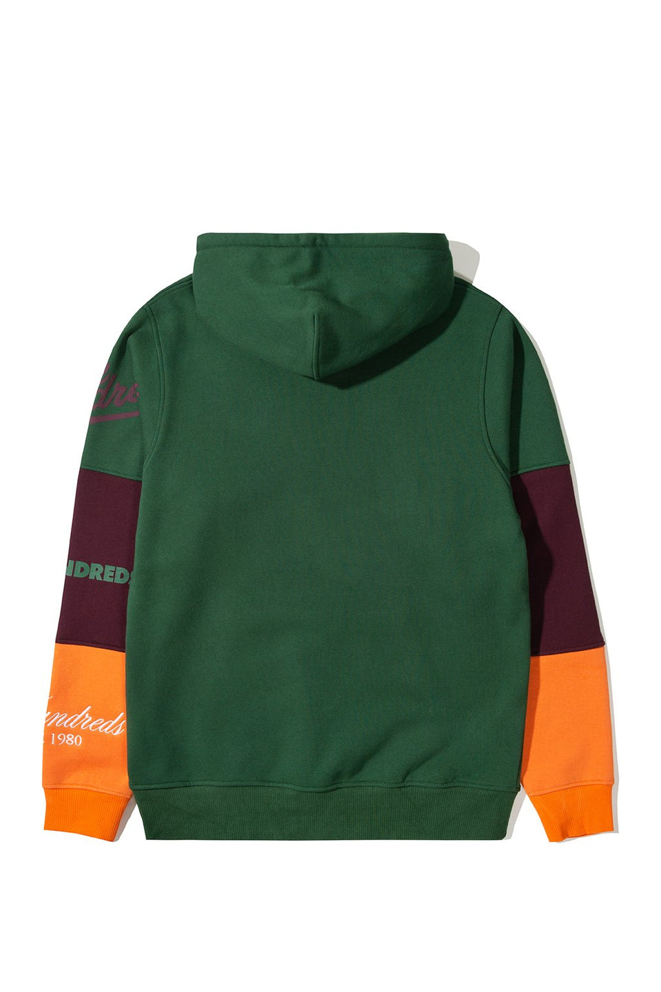 The Hundreds Hollow Pullover Hoodie TOPS Hunter Green
