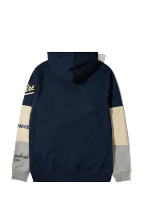 The Hundreds Hollow Pullover Hoodie TOPS Navy