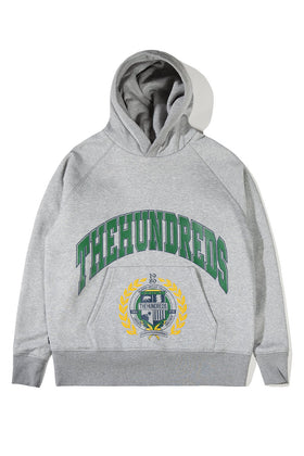 The Hundreds Alma Pullover Hoodie TOPS Athletic Heather
