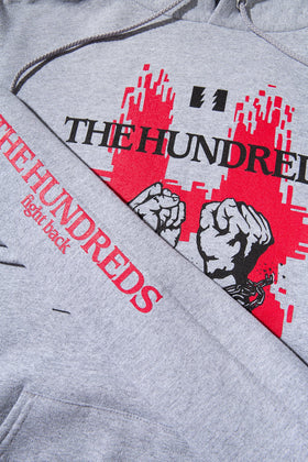 The Hundreds Break Pullover Hoodie TOPS Athletic Heather