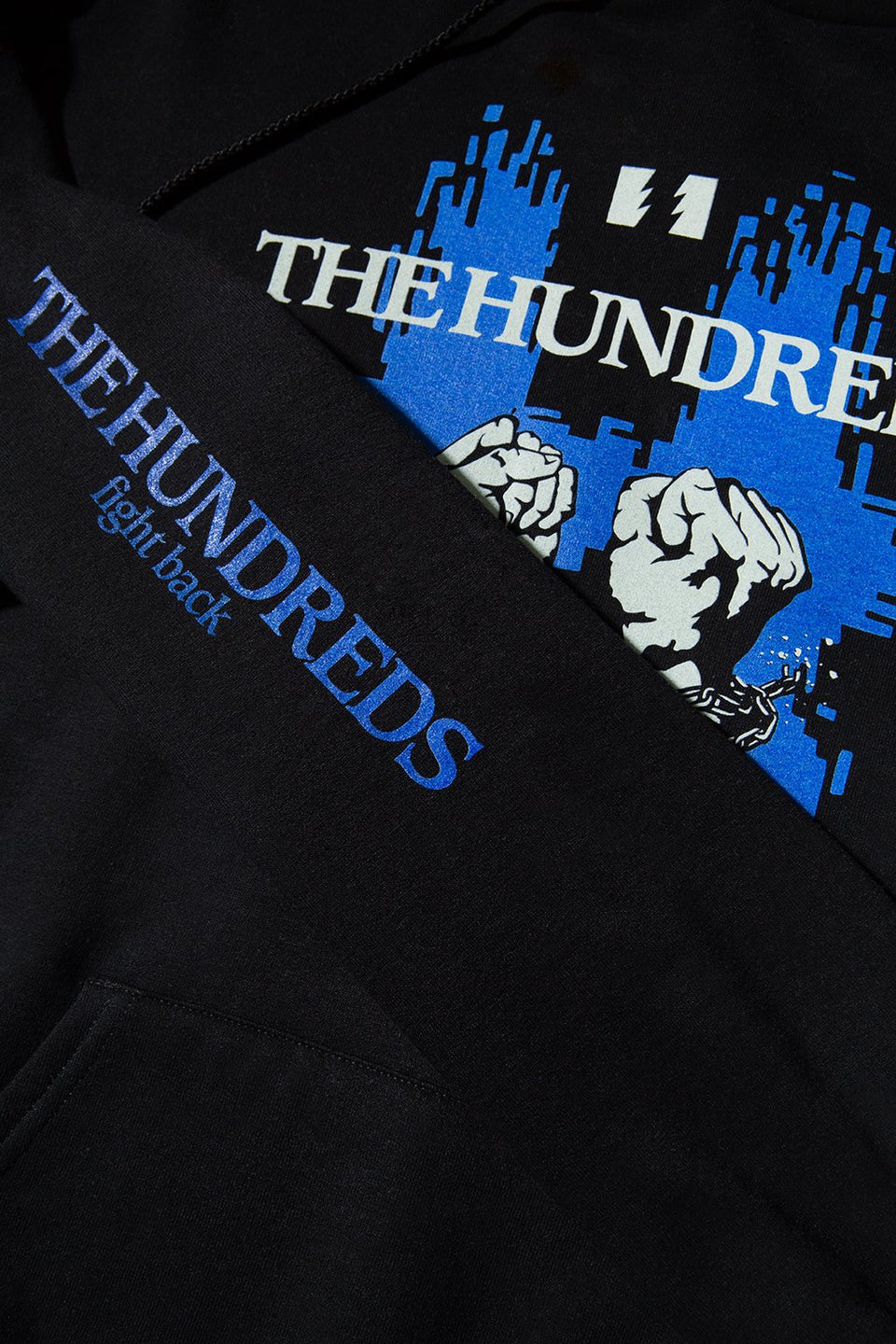 The Hundreds Break Pullover Hoodie TOPS Black