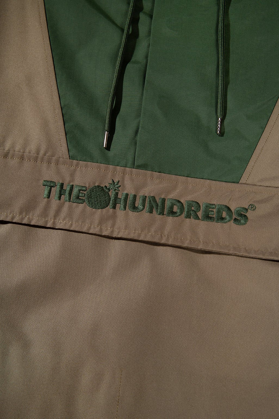 The Hundreds Ranger Anorak TOPS Olive