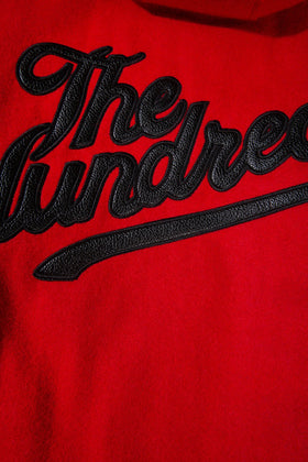 The Hundreds Letterman Jacket TOPS Red