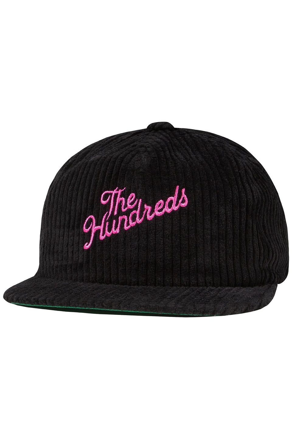 The Hundreds Slant Strapback HEADWEAR Black